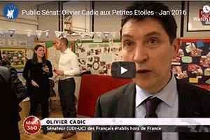 Olivier Cadic aux Petites Etoiles